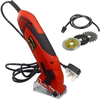 Mini Circular Saw 400W Handheld Multifunction Power Tool with 3 Blades Portable Electric Saw DIY Power Tool
