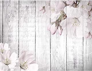 Papel Pintado Fotográfico Flores Sakura 352 x 250 cm Tipo Fleece no-trenzado Salón Dormitorio Despacho Pasillo Decoración murales decoración de paredes moderna - 100% FABRICADO EN ALEMANIA - 9118011b