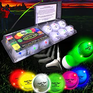 Night Flyer Lighted Golf Balls - 12 Ball Variety Pack
