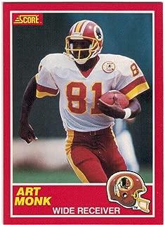 1989 Score with Supplemental Washington Redskins Team Set with Art Monk & Doug Williams - 15 NFL Cards