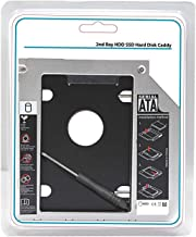 Storite 9.5mm Sata to IDE 2nd Bay Drive Caddy for Laptop 2.5