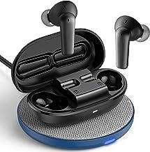 ایرباد بی سیم لغو سر و صدا فعال ، NyPots A8 ANC بلوتوث Earbuds بی سیم ، هدفون حالت شفاف ، هدفون ضد آب IPX8 ، هدست پخش 32H (شامل شارژر بی سیم)