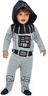 Baby Boys Costume Zip-Up Footies with Hood