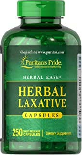Puritans Pride Herbal Laxative-250 Capsules, 250 Count