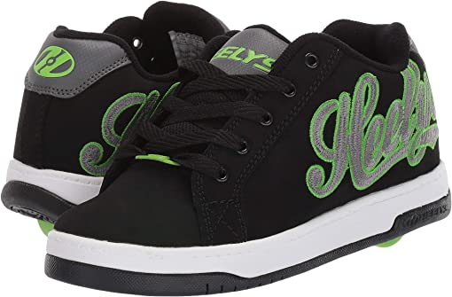 Black/Charcoal/Bright Green