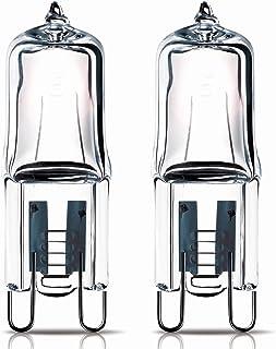 2 x 40w G9 Halogen Oven lamp Capsule for AEG Oven 240v 300 Heat Tolerant