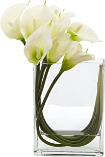 Best calla lily shaped vases Reviews