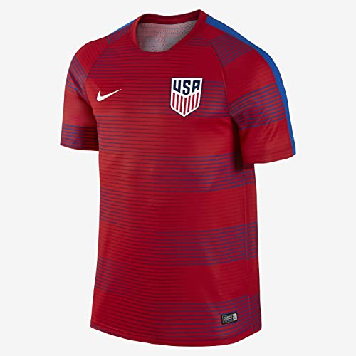 e9280eaf8 Nike Men s U.S. Pre-Match Training II Soccer Short-Sleeve Shirt