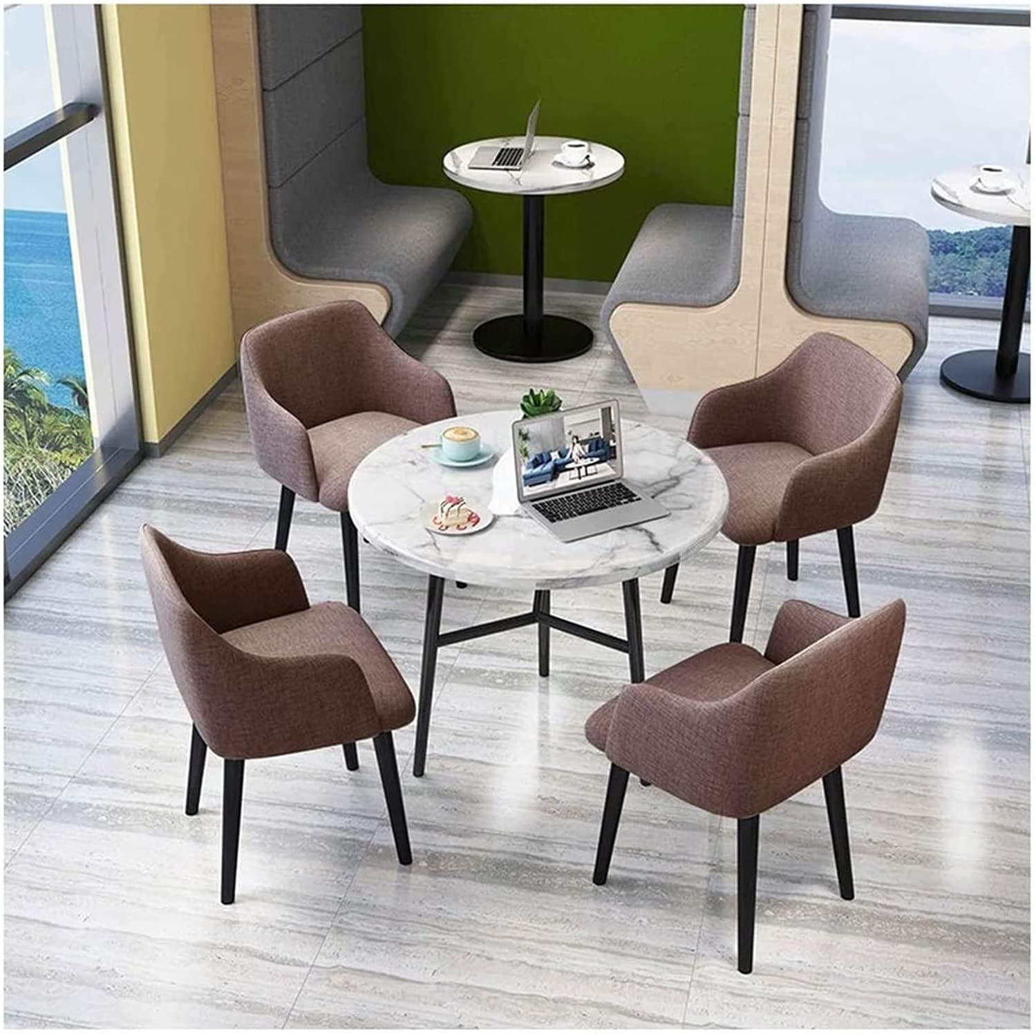 2021 new ASDDD Office Limited time cheap sale Reception Table and Set Chair