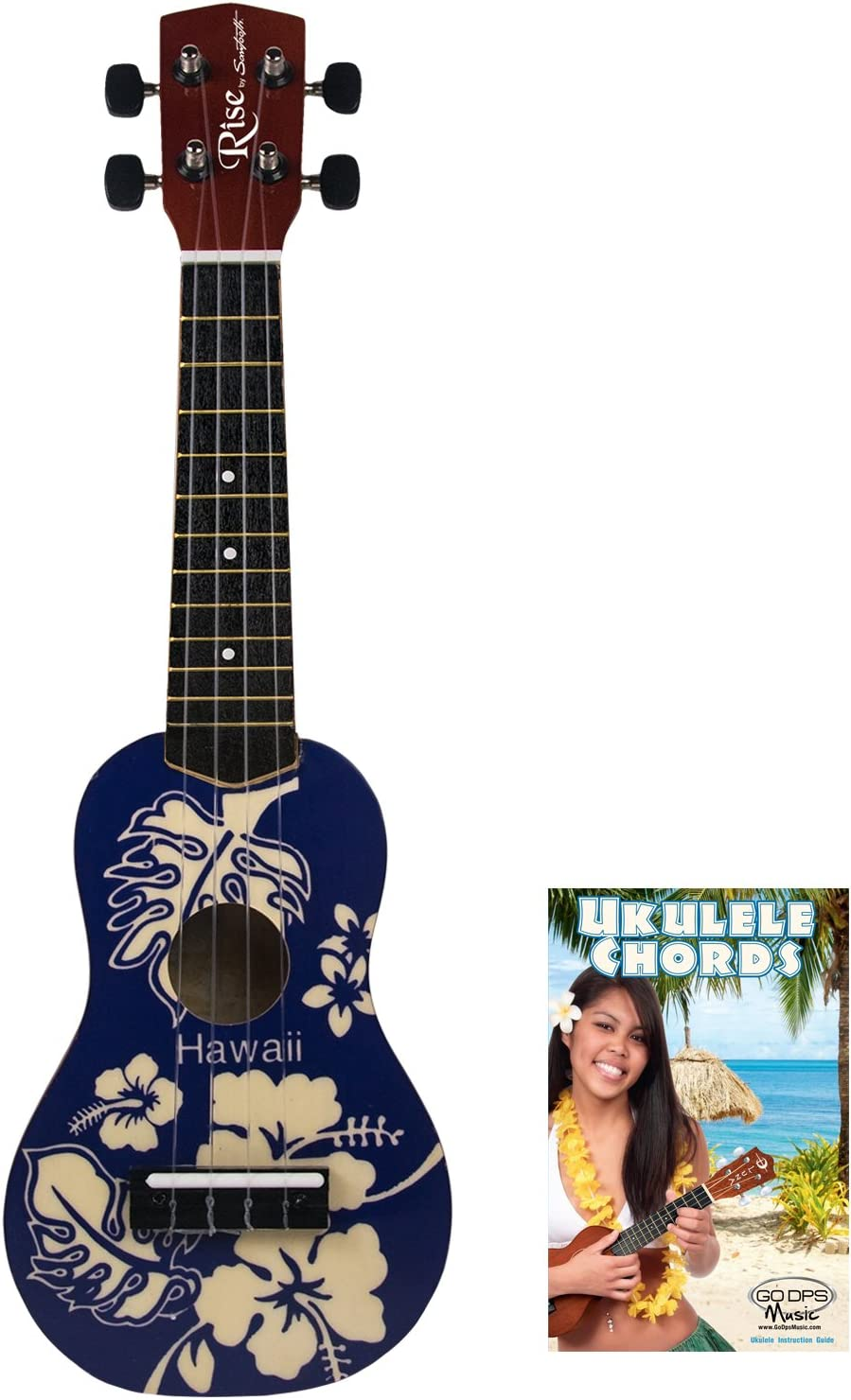 quality Max 90% OFF assurance Rise by Sawtooth Beginner's Ukulele Hawaii Blue