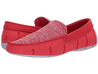 SWIMS Classic Venetian Loafer (Red Alert/Alloy) Men