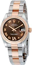 Rolex Datejust Oyster Perpetual Datejust Steel and 18K Rose Gold Diamond Ladies Watch178271CHRDO