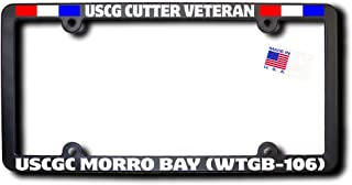 USCG Cutter Veteran USCGC MORRO BAY (WTGB-106) REFLECTIVE TEXT & RIBBONS Frame