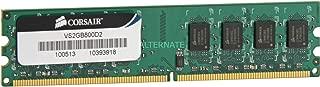 Corsair 2GB (1x2GB) DDR2 800 MHz (PC2 6400) Desktop Memory