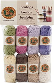 Lion Brand Yarn Bonbons Yarn, Nature