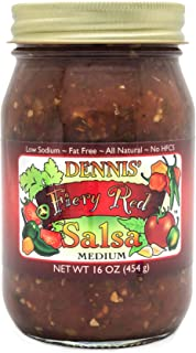 All-Natural Fiery Red Salsa by Dennis' Gourmet | A Fresh, Hearty Restaurant Salsa that..
