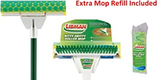 Libman Nitty Gritty Roller Mop With Extra Mop Refill