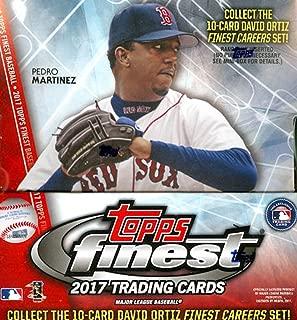 2017 Topps Finest MLB Baseball HOBBY box (12 pk)