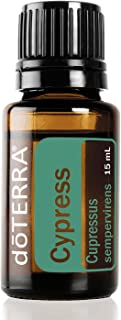 doTERRA - Cypress Essential Oil - Promotes Vitality and Energy, Helps Improve the Appearance of Oily Skin, Commonly Diffused with Citrus Oils for an Uplifting Aroma; For Diffusion or Topical Use - 15 mL