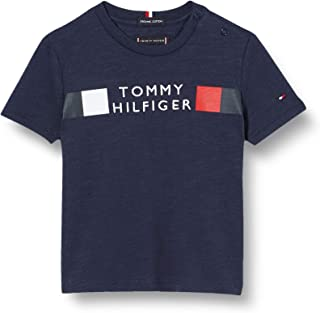 Tommy Hilfiger Global Stripe Tee S/S Camicia Bambino