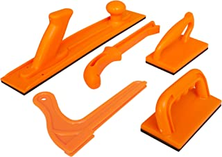 Safety Woodworking Push Block and Push Stick Package 5 Piece Set In Safety Orange Color,..
