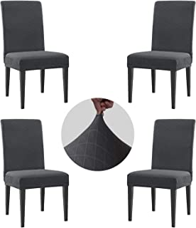 Best dining chair covers gray Reviews