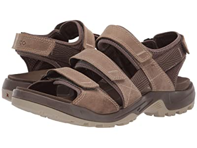 ECCO Sport Offroad 3 Strap Sandal (Navajo Brown) Men
