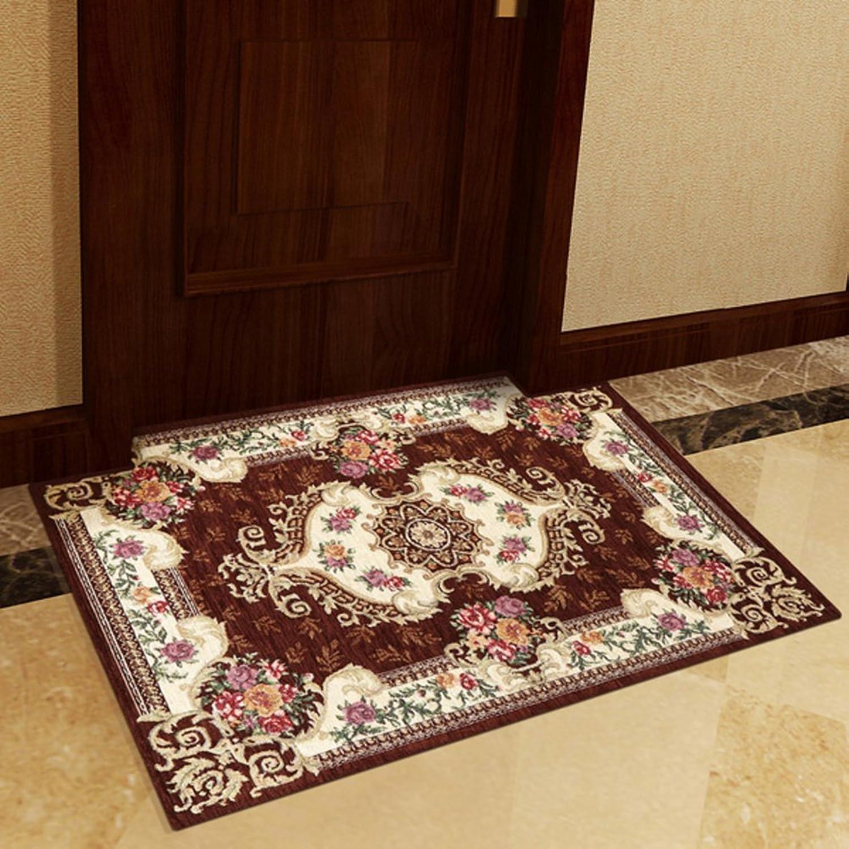 Doormat European-Style Floor mats Doormat Door,Home,Carpet Indoor mats [Hall],Living Room,Bedroom,Household mats-H 80x120cm(31x47inch)