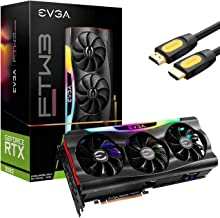 EVGA GeForce RTX 3080 FTW3 Ultra Gaming Graphics Card, 10GB GDDR6X, VR Ready, PCIe 4.0, iCX3 Technology, ARGB LED, Metal B...