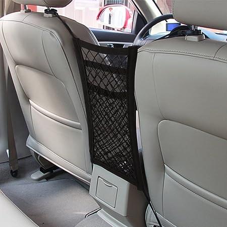 Auto Netz Maxtuf 3 Schichte Auto Rücksitz Netz Organizer Tasche Mit 4 Haken Universal Für Kinder Trinkflasche Spielzeug Beutel Auto