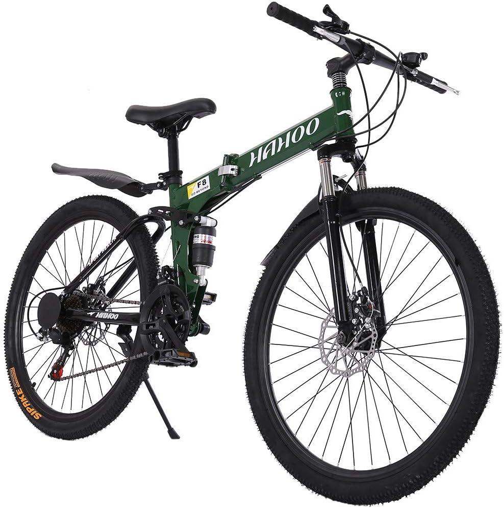 Road Bike,Cruiser Bikes Outdoor Exercise Bicycle Road Bike for Men or Women 26 Inch 21Speed Mountain Bike