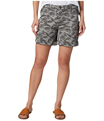 Jag Jeans Sandra 6 Twill Shorts (Faded Forest Camo) Women