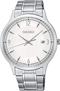 Seiko Mens Watch Model SGEH79P Stainless Steel Date 4954628225436 Silver