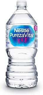 Agua Purificada Nestlé Pureza Vital 1 Lt, Paquete de 12 Piezas