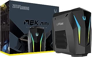 ZOTAC GAMING MEK MINI GAMING PC, GeForce RTX 2070 SUPER 8GB GDDR6, 8-core Intel Core i7-9700, GM207SC7R1B-U-W2B