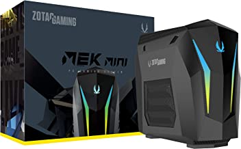 ZOTAC Gaming Mek Mini Gaming PC, GeForce RTX 2070 Super 8GB GDDR6, 8-Core Intel Core..