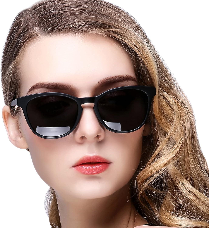 KANASTAL Gafas de Sol Mujer Polarizadas Clásicas Vintage con Protección UV400 de Moda Sunglasses Women