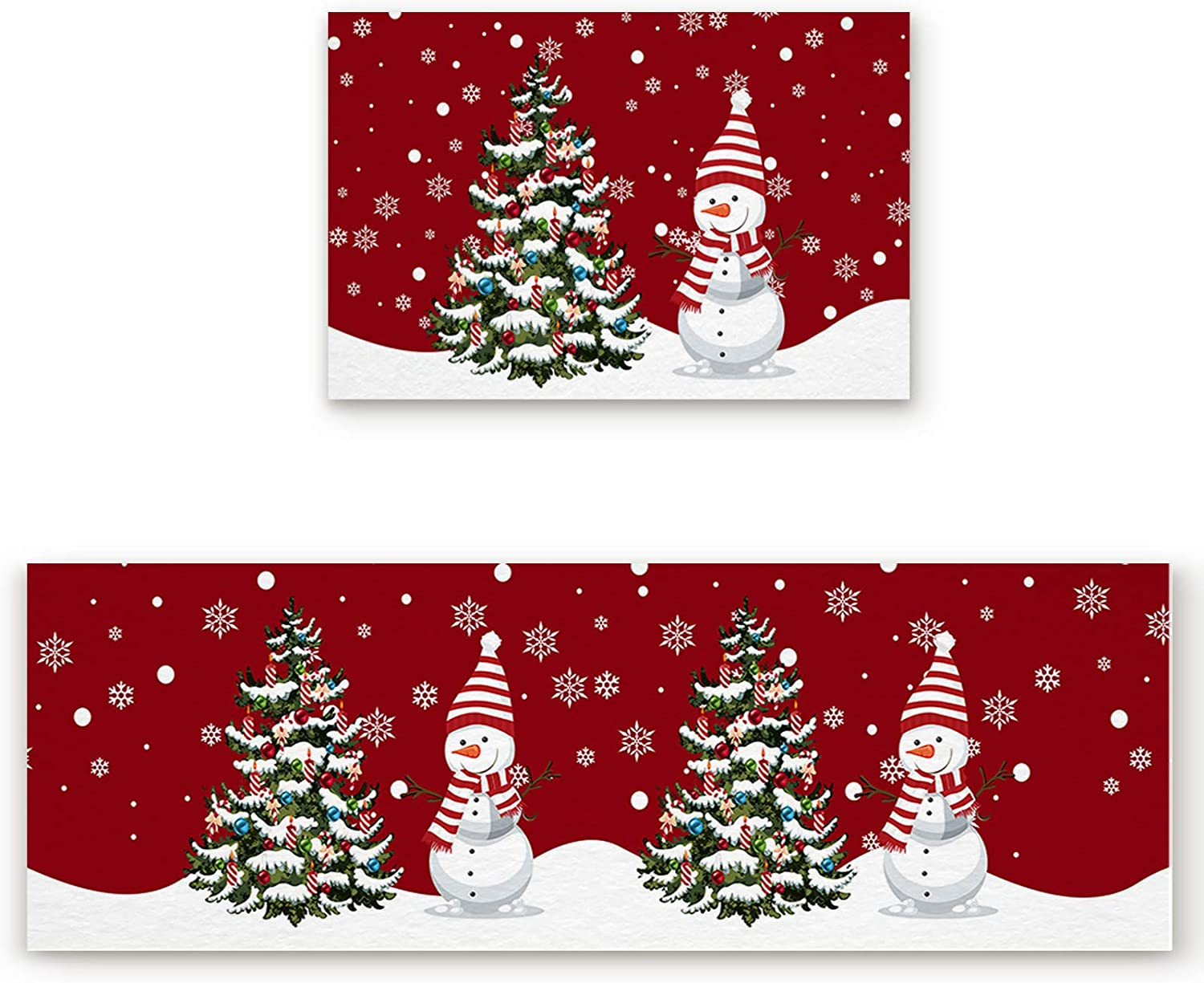 Houseall 2 High material PCS Kitchen Rugs Mats specialty shop and Absorbent Orga Set