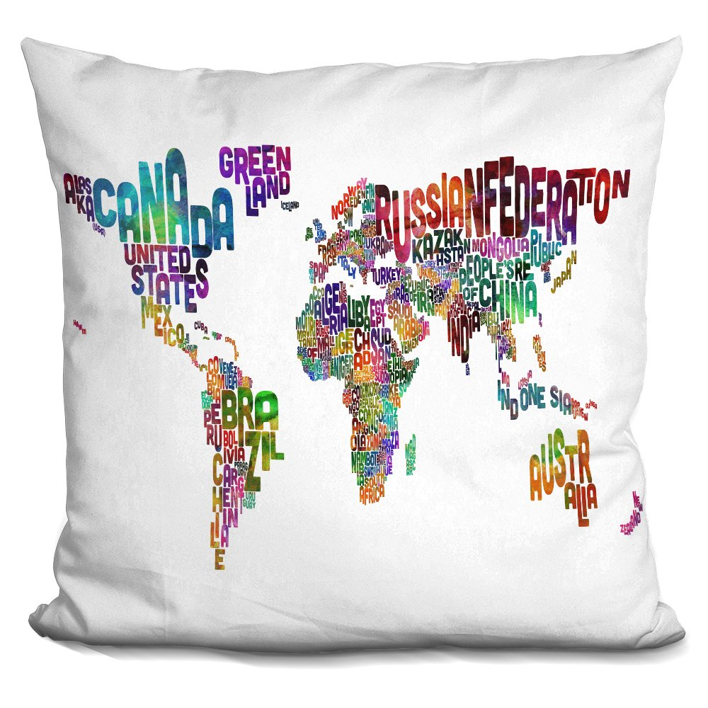 LiLiPi You are Whole Decorative Accent Throw Pillow