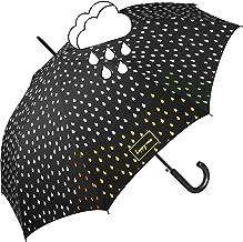 Cambia colore delle gocce di pioggia Ombrello nero di qualità dell/'acqua Pioggia Cambia Colore
