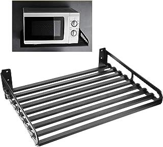 Support de four à micro-ondes, support de rangement de cuisine, étagère de four à micro-ondes, organisateur de cuisine pou...