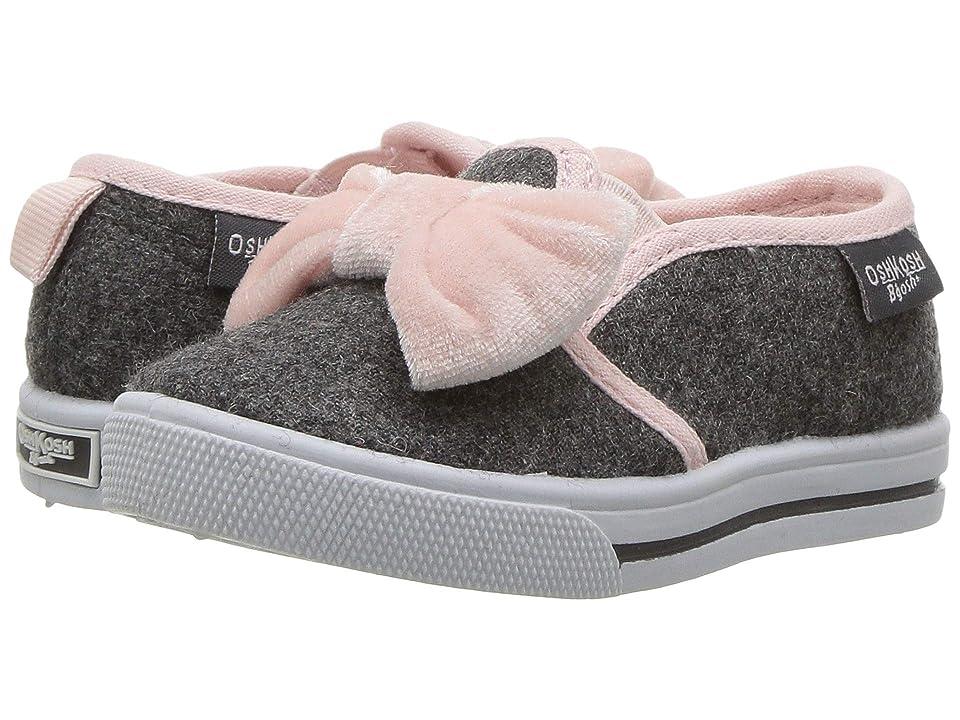 OshKosh Edie5-G (Toddler/Little Kid) (Grey/Pink) Girl