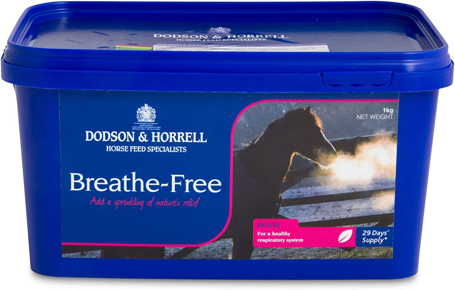 Dodson & Horrell BreatheFree Respiratory Horse Supplement 1kg (Pack of 4)