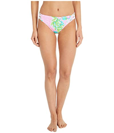 Lilly Pulitzer Lita Lattice Bikini Bottoms (Multi Dont Stop Beleafing) Women