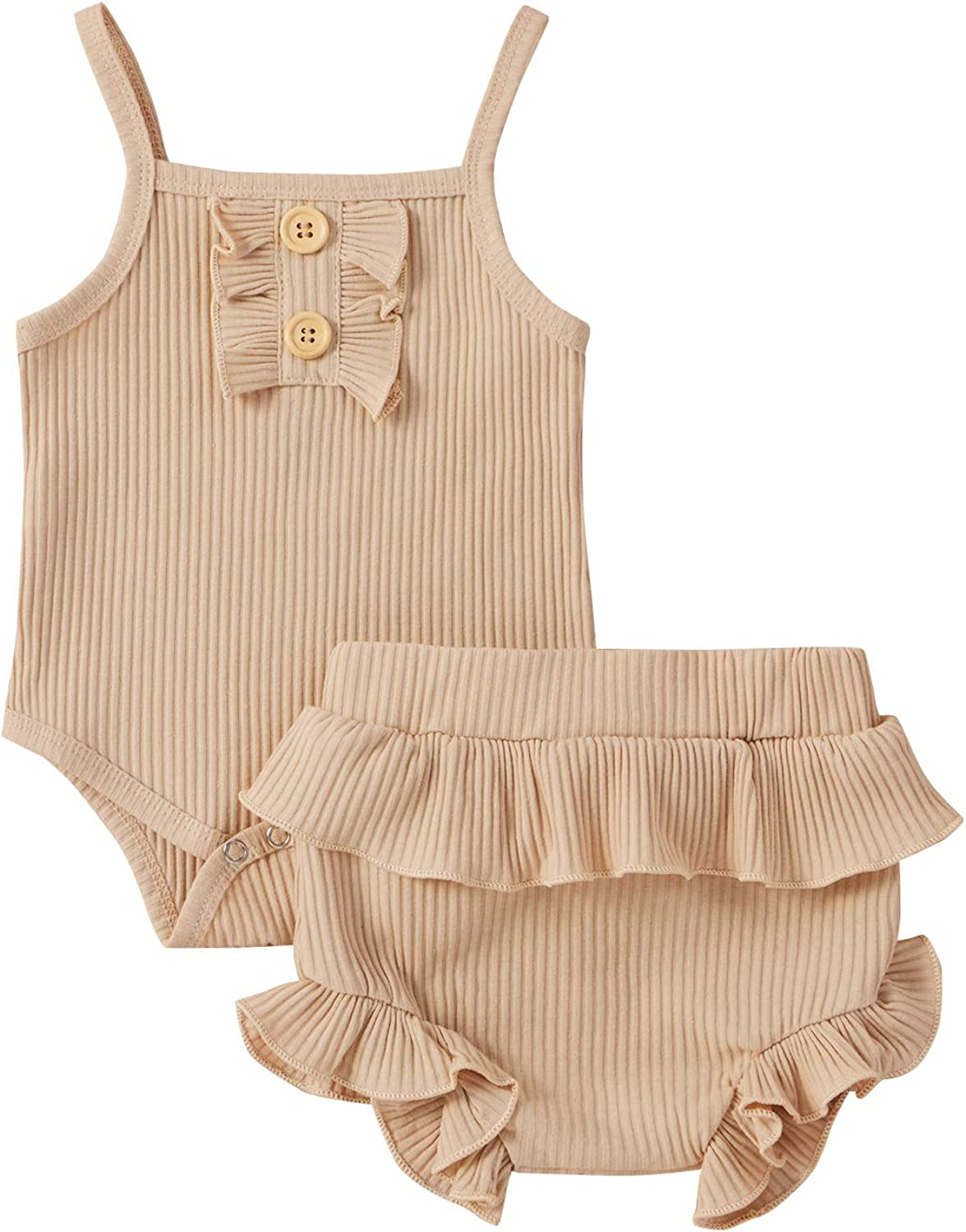Baby Girl Clothes Max Max 69% OFF 40% OFF Flare Summer Rompe Sleeve Outfits Ruffle Short