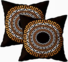 Capsceoll Pillows Case Standard Size, Home Chalkboard Sign Blackboard Background with Chalk Typography 16x16 Pillow Covers...