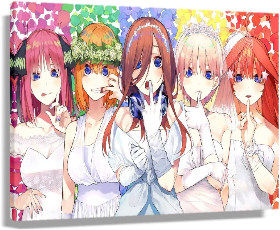 The Quintessential Quintuplets HD Print Art Wall Poster Picture Raleigh Mall Some reservation