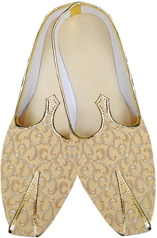 INMONARCH Herren Bisque Hochzeit Schuhe Designer MJ015659