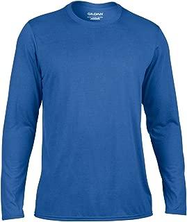 Gildan Adult Unisex Sports Performance Long Sleeve T-Shirt (Pack of 2)