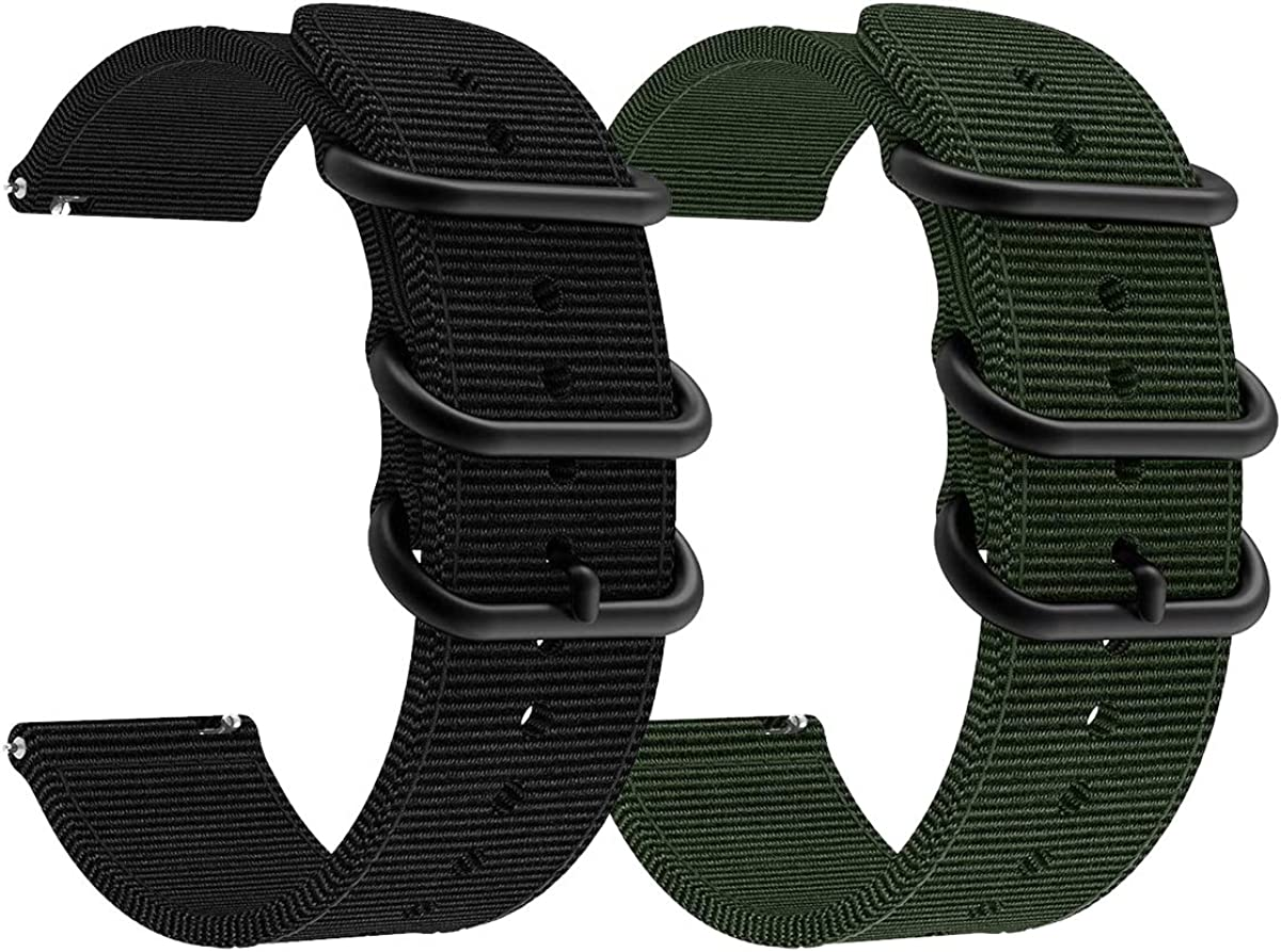 AWMES Compatible Memphis Mall for Samsung Galaxy excellence Watch 42mm 41mm Bands 3 20m